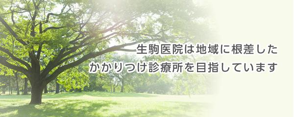 埼玉県さいたま市の内科・小児科・糖尿病内科・内分泌内科|生駒医院